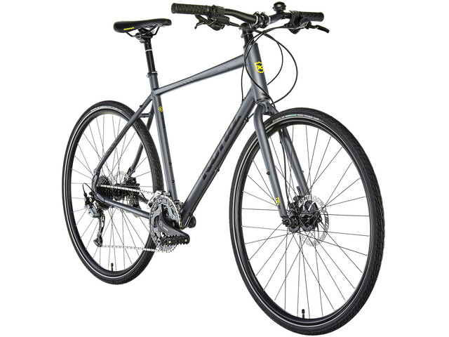 d7adcd188b6 Kona Dew Plus Hybridcykel grå - till fenomenalt pris på Bikester